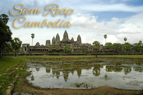Cambodia, Siem Reap