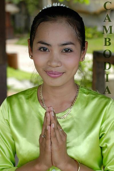 Namaste. Siem Reap, Cambodia