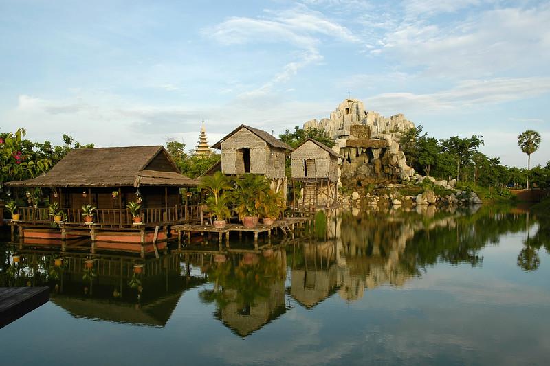 Cambodian Cultural Village, Siem Reap, Cambodia.