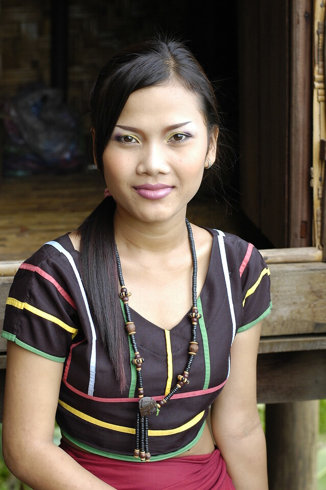 Lady in Siem Reap, Cambodia.
