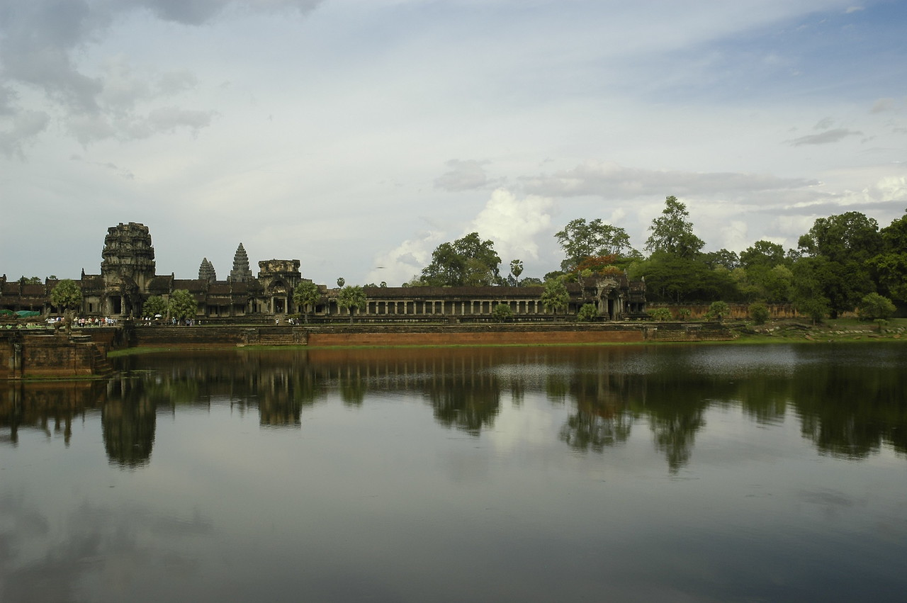 Angkor Wat Temple Complex at Siem Reap, Cambodia.