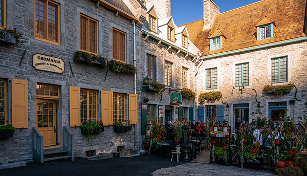 Historical buildings at Place Royale, Quebec