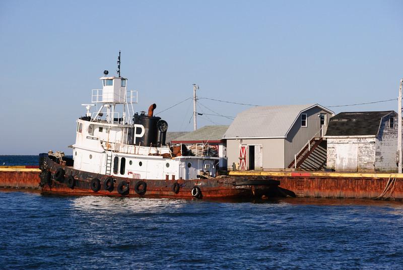 Tugboat at Summerside Harbor, PEI
