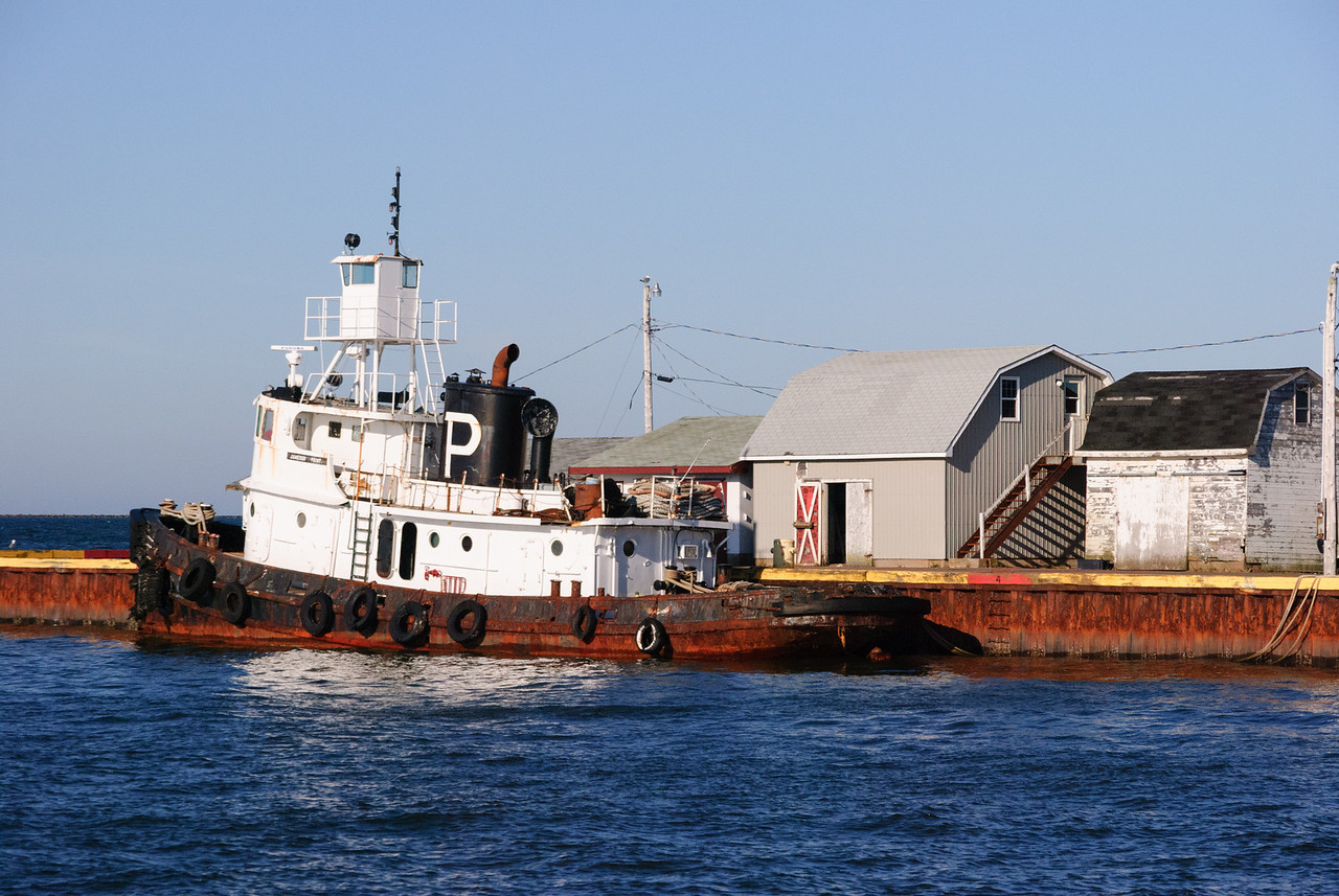 Tugboat at Summerside Harbor, PEI
