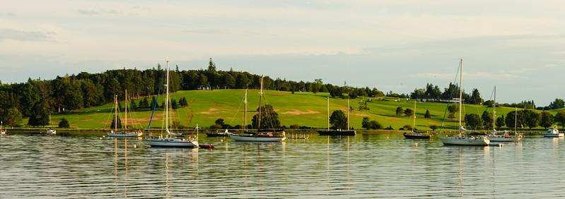 Harbor in Lunenburg, NS