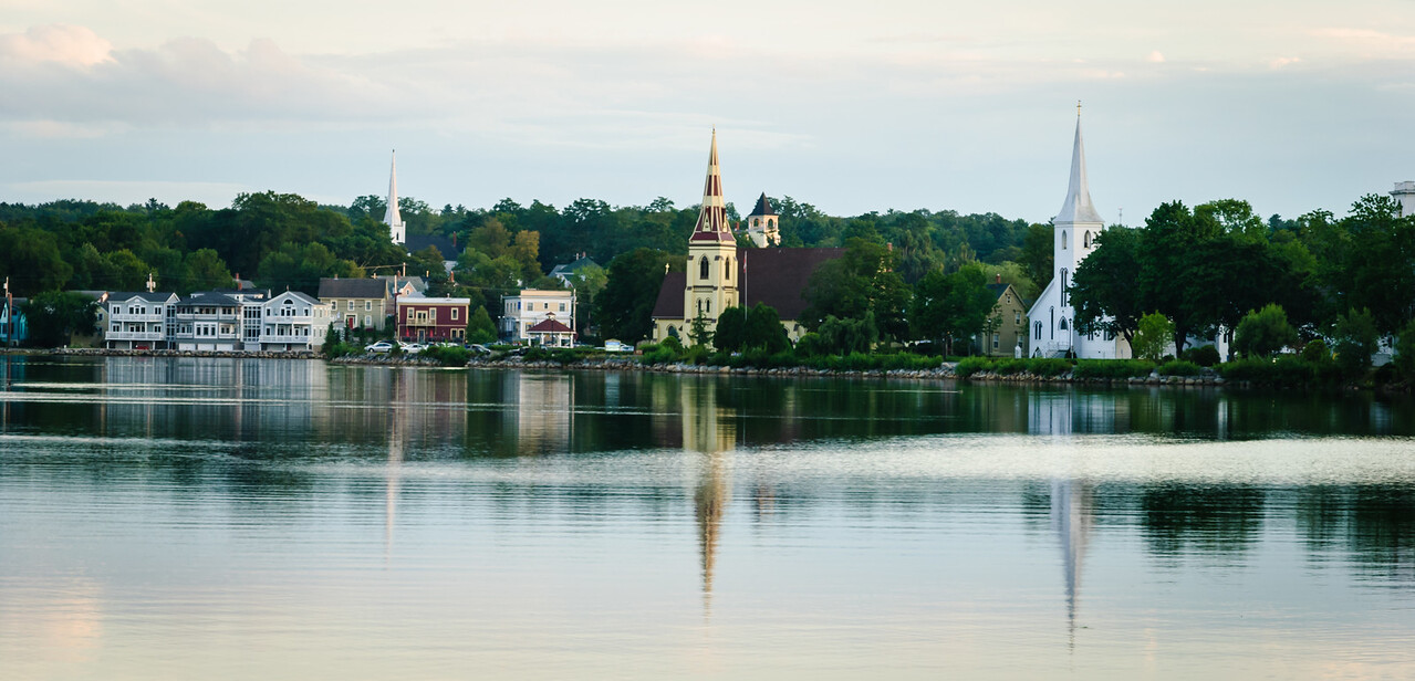 Three Churches, Lunenburg, NS