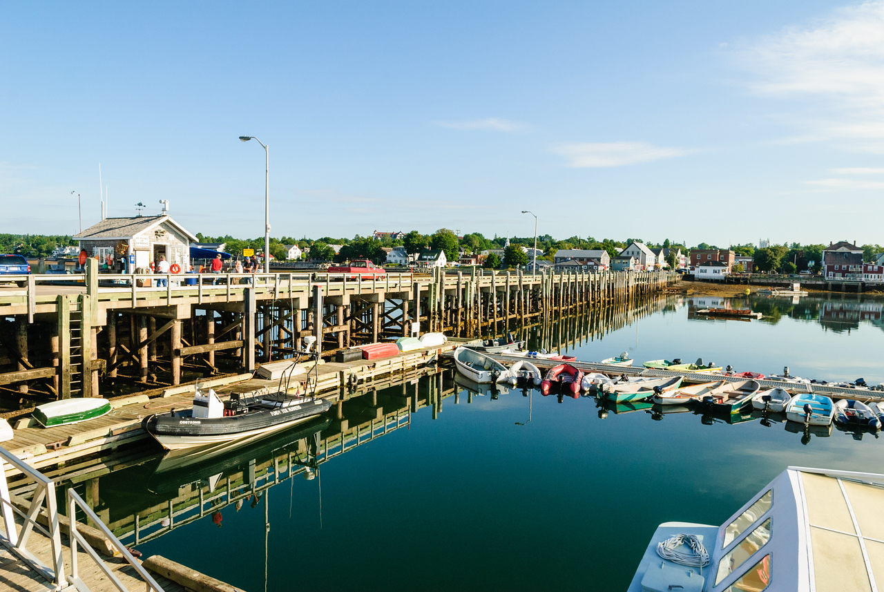 Harbor, St. Andrews-by-the-Sea, NB