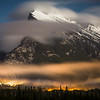 """Aftermath"" III, First snowfall in Banff, Mount Rundle, Banff National Park, Alberta, Canada."