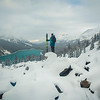"""Contemplating the Winter Ahead"" VIII, Peyto Lake, Banff National Park, Alberta, Canada."