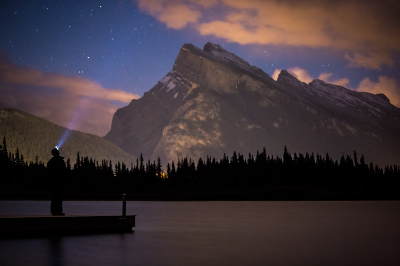 """Rundle and I"" III, Vermilion Lakes, Banff National Park, Alberta, Canada."