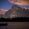 """Rundle and I"" III, Vermilion Lakes, Banff National Park, Alberta, Canada."