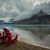 """Bow Lake Moods"" I, Banff National Park, Alberta, Canada."