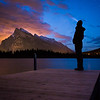 """Rundle and I"" I, Vermilion Lakes, Banff National Park, Alberta, Canada."