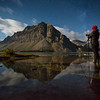 """Crowfoot Glory"" III<br /> <br /> Bow Lake, Banff National Park, Alberta, Canada."