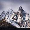 """""""Springtime Spires""""<br /> <br /> Subpeaks of Mount Bell, Banff National Park, Alberta, Canada."""