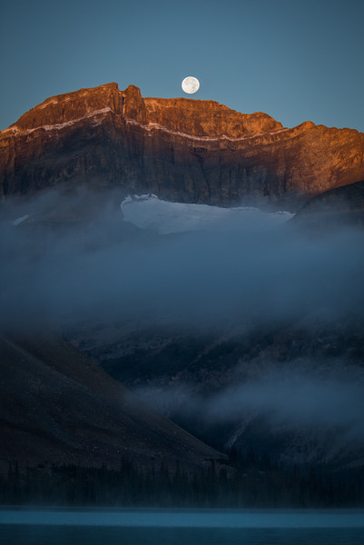 """Scenes from the 2013 Banff Centre Wilderness Photography Workshop"" I, Bow Lake, Banff National Park, Alberta, Canada."