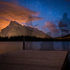 """Phantom Gathering"" II, Vermilion Lakes, Banff National Park, Alberta, Canada."