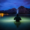 """Communion"", Lake Minnewanka, Banff National Park, Alberta, Canada."
