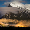 """Aftermath"" IV, First snowfall in Banff, Mount Rundle, Banff National Park, Alberta, Canada."