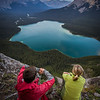 """Evening at Pinto Lake"" X, White Goat Wilderness/Banff National Park, Alberta, Canada."