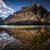 """Crowfoot Glory"" II  Bow Lake, Banff National Park, Alberta, Canada."