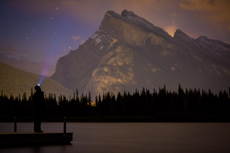 """Rundle and I"" IV, Vermilion Lakes, Banff National Park, Alberta, Canada."