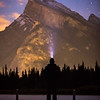 """Rundle and I"" II, Vermilion Lakes, Banff National Park, Alberta, Canada."