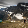 """Atop the Giant"" IV, Scenes from an ascent of Mount Chephren, Banff National Park, Alberta, Canada."