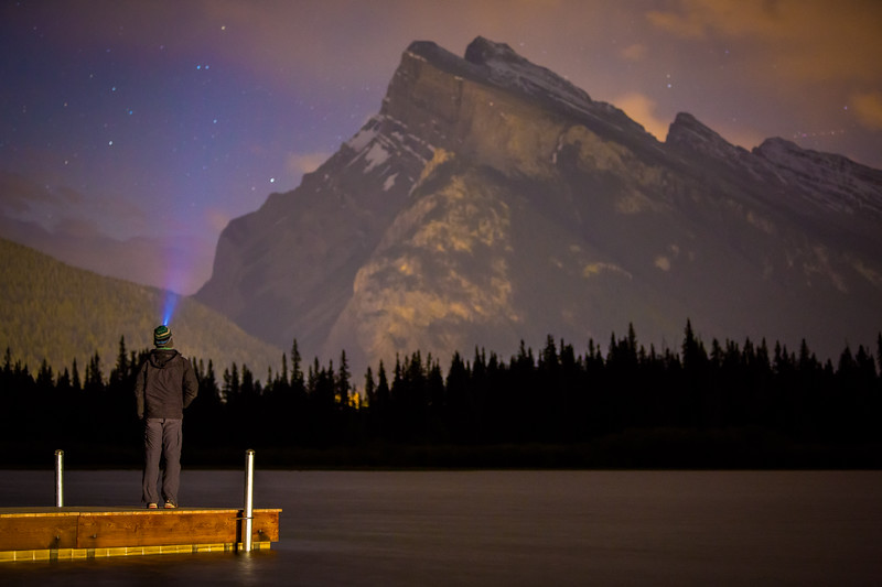 """Rundle and I"" V, Vermilion Lakes, Banff National Park, Alberta, Canada."