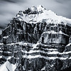 """Hasty Skies"" II, Epaulette Mountain, Banff National Park, Alberta, Canada."
