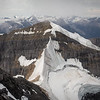 """Atop the Giant"" XIX, Scenes from an ascent of Mount Chephren, Banff National Park, Alberta, Canada."