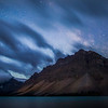 """Crowfoot Glory"" I  Bow Lake, Banff National Park, Alberta, Canada."