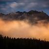 """Floating Ridges""<br /> <br /> Mount Norquay, Banff National Park, Alberta, Canada."