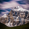 """Hasty Skies"" I, Epaulette Mountain, Banff National Park, Alberta, Canada."