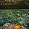 """Consolation Morning"" VIII, Fall at Consolation Lakes, Banff National Park, Alberta, Canada."