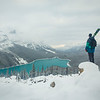 """Contemplating the Winter Ahead"" V, Peyto Lake, Banff National Park, Alberta, Canada."