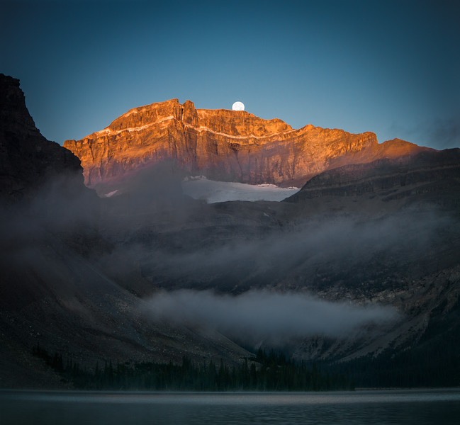 """Scenes from the 2013 Banff Centre Wilderness Photography Workshop"" III, Bow Lake, Banff National Park, Alberta, Canada."