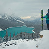 """Contemplating the Winter Ahead"" VI, Peyto Lake, Banff National Park, Alberta, Canada."
