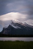 Clouds on Mount Rundle, Vermilion Lakes