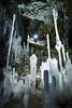 Ice crystals in cave, Haffner Creek, Kootenay National Park