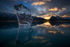 Ice structures, Abraham Lake
