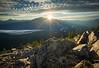 Scenes from climbing <br /> Mount Geraldine
