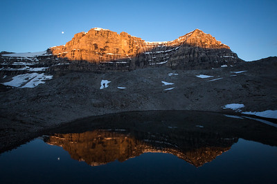 Mountain reflections from White Goat area