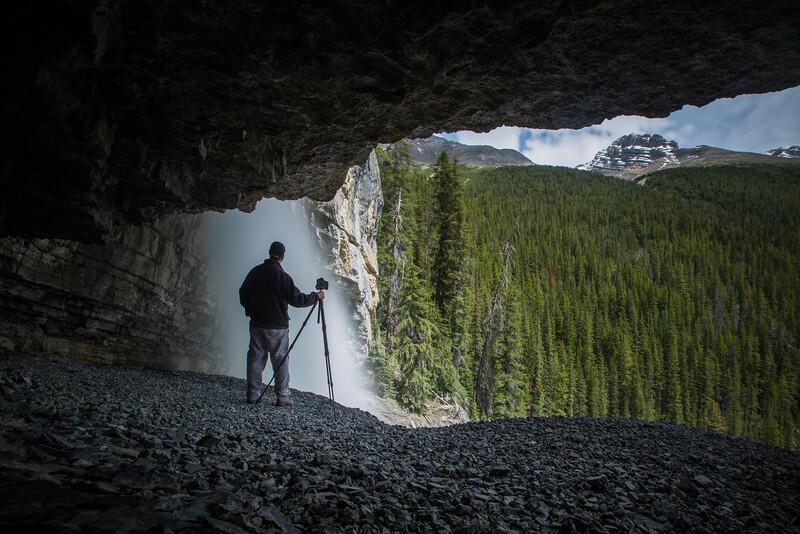 Photographer at Panther Falls