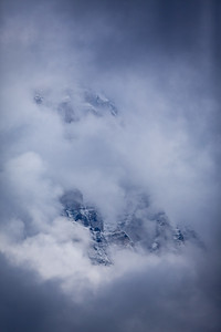 Scenes from Waterfowl Lake, Banff National Park