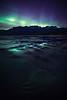 Aurora Borealis over Jasper Lake