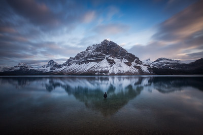 Scenes from Bow Lake, Banff National Park