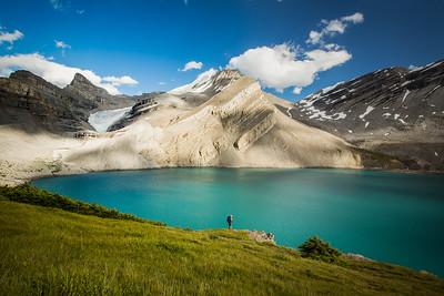 Hiking Coleman Lake