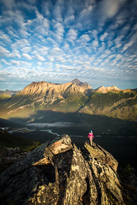 Scenes from climbing  Mount Geraldine