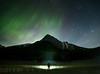 Aurora over Medicine Lake
